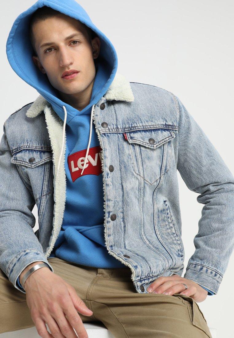 Levi's® - TYPE 3 SHERPA TRUCKER - Kurtka jeansowa - stonebridge