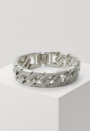 GLITTER BRACELET - Pulsera - silver-coloured