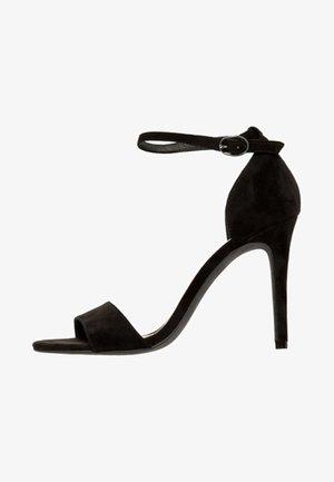 AJA EIN-RIEMCHEN - High heeled sandals - anthracite