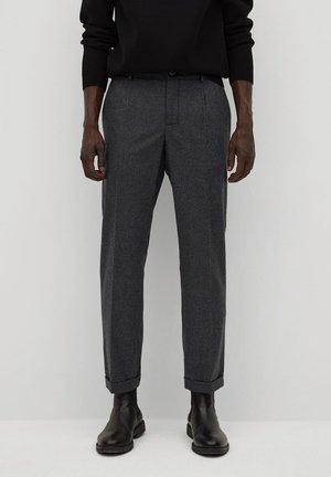 LISBOA - Kalhoty - dunkelgrün