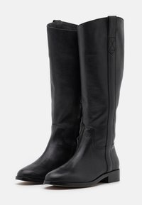 Madewell - WINSLOW KNEE HIGH BOOT - Vysoká obuv - true black - 2