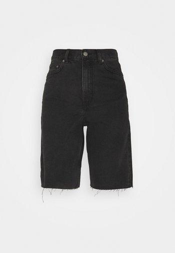 ECHO - Shorts di jeans - charcoal black