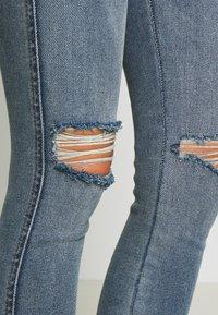 Dr.Denim - LEXY - Jeans Skinny Fit - westcoast blue ripped - 6