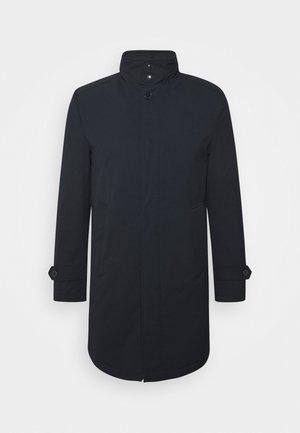 QUEBECH - Klasický kabát - navy