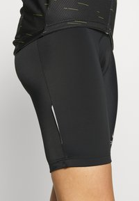 ODLO - TIGHTS SHORT SUSPENDERS ELEMENT - Tights - black - 9