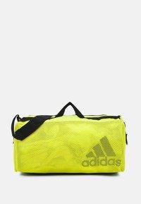 adidas Performance - DUFFEL  - Sportovní taška - acid yellow/black - 1