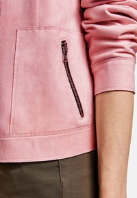 Gerry Weber - Veste en similicuir - rose - 1