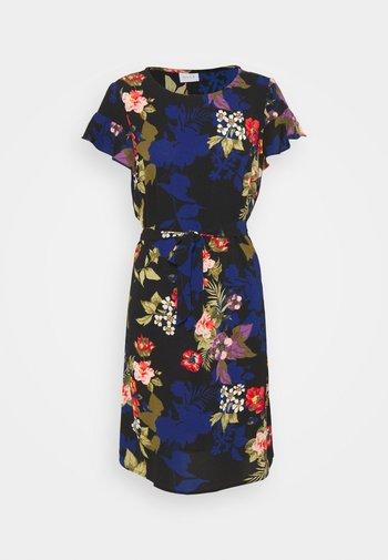 VIDIANA FLOUNCE DRESS