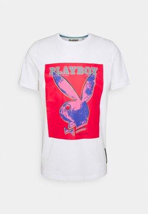 RRMALACHI TEE UNISEX - Print T-shirt - white