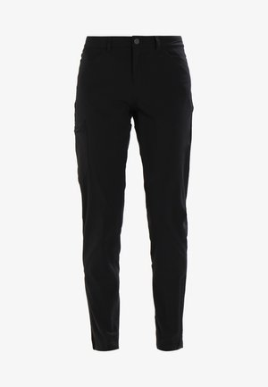 SKYLINE TRAVELER PANTS  REG - Kangashousut - black