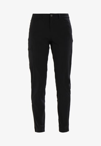 SKYLINE TRAVELER PANTS - Bukse - black