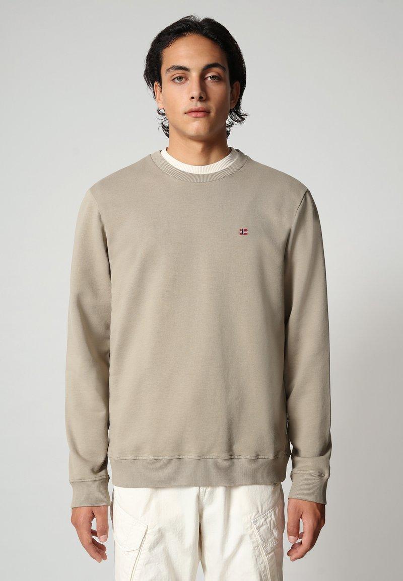 Napapijri - BALIS - Sweater - silver sage