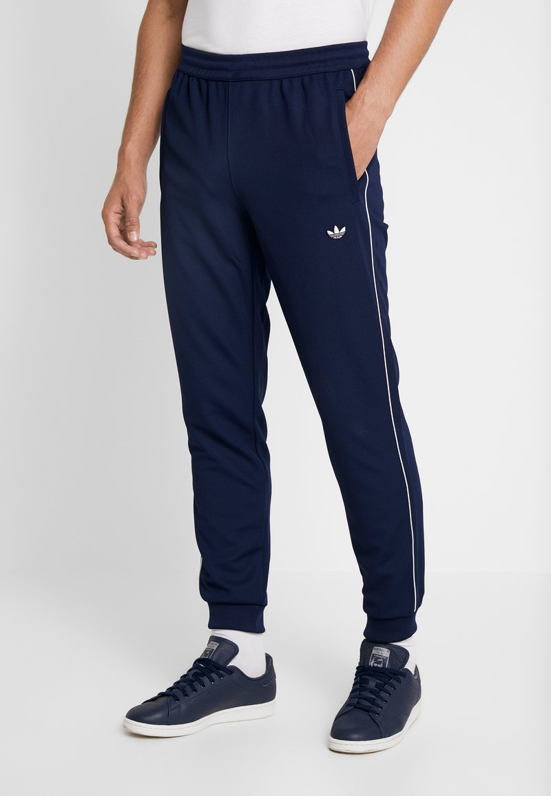 adidas Originals - TRACK BOTTOM - Pantalones deportivos - night indigo