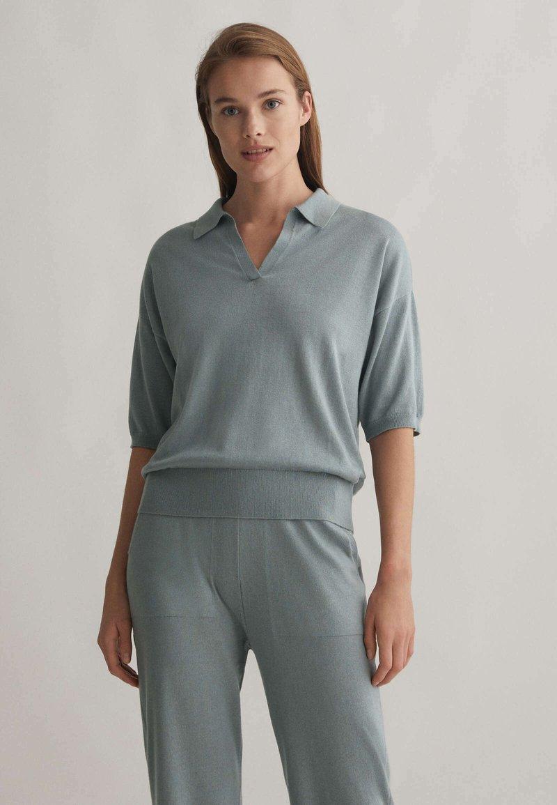 OYSHO - Polo shirt - grey