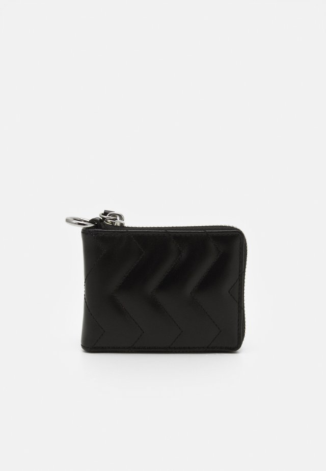 QUILTED WALLET - Wallet - black