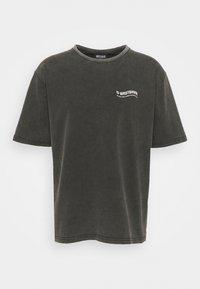 WRSTBHVR - CIRCLE VINTAGE UNISEX - Print T-shirt - vintage black - 4