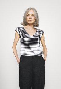 Anna Field - Print T-shirt - black/white - 0