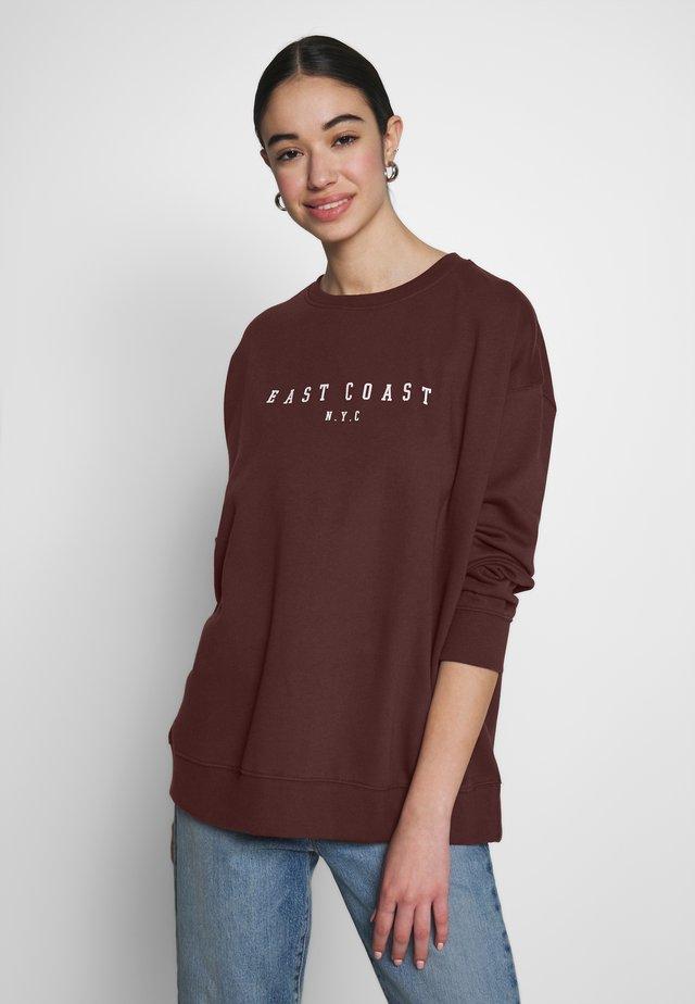 EAST COAST NYC - Collegepaita - light brown