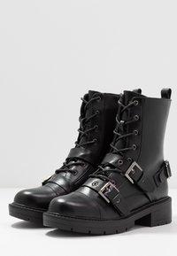 RAID - STEVIE - Cowboystøvletter - black - 4