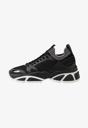 LUCAS - Sneakers basse - black/white