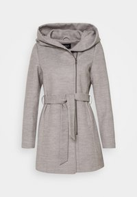 ONLY - ONLCANE COAT - Krátký kabát - light grey melange - 4