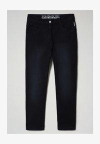 Napapijri - MULLEY - Relaxed fit jeans - blu marine - 4