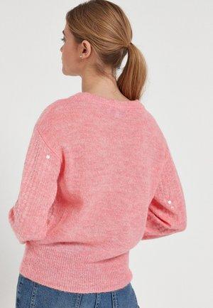 SEQUIN  - Jumper - pink
