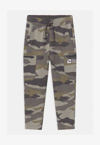 Abercrombie & Fitch - LOGO - Tracksuit bottoms - green - 0