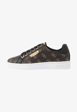 BANQ - Sneaker low - bronze/black