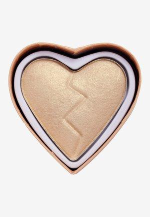I HEART REVOLUTION HEARTBREAKERS HIGHLIGHTER - Highlighter - golden