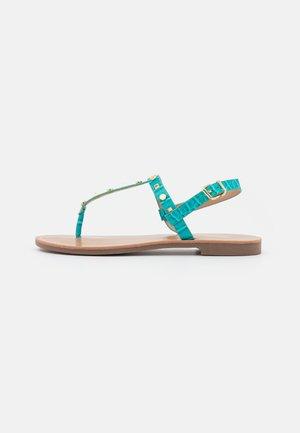 ONLMELLY STRUCTURE STUD  - Flip Flops - blue