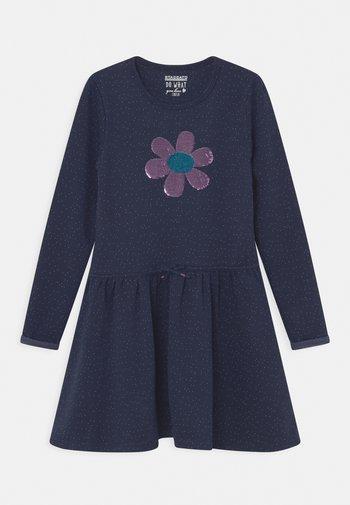 Jersey dress - indigo