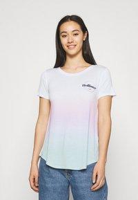 Hollister Co. - SSEASY CORE - Print T-shirt - wash - 0
