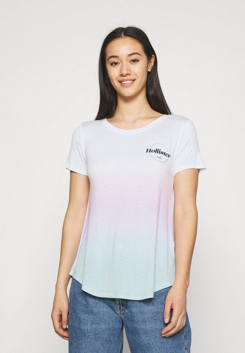 Hollister Co. - SSEASY CORE - Print T-shirt - wash