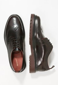 GANT - BEAUMONT - Lace-ups - port red - 1