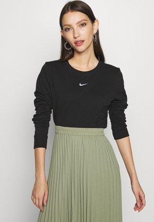 TEE - Långärmad tröja - black