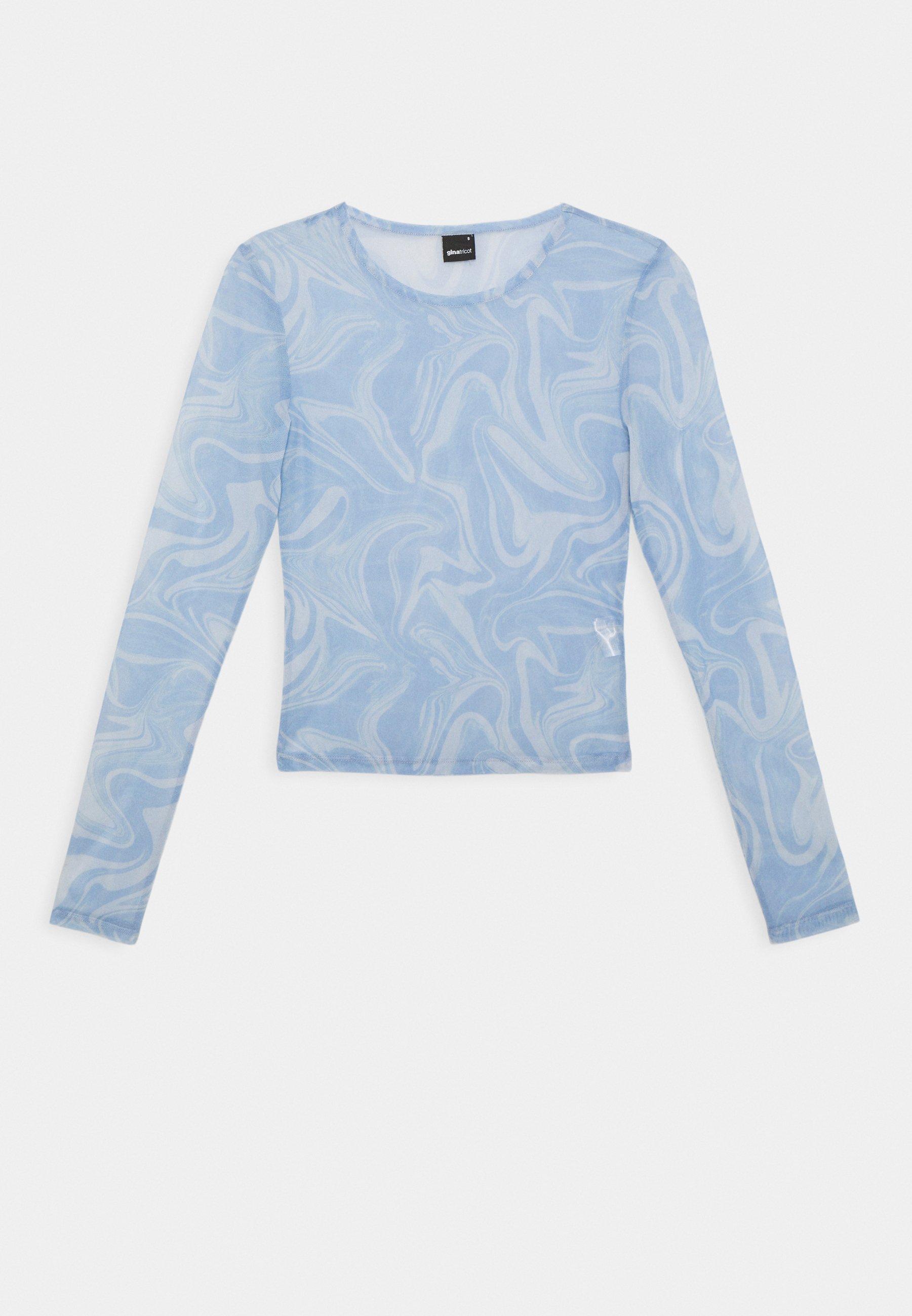 Damen LAURA  - T-Shirt print - blue