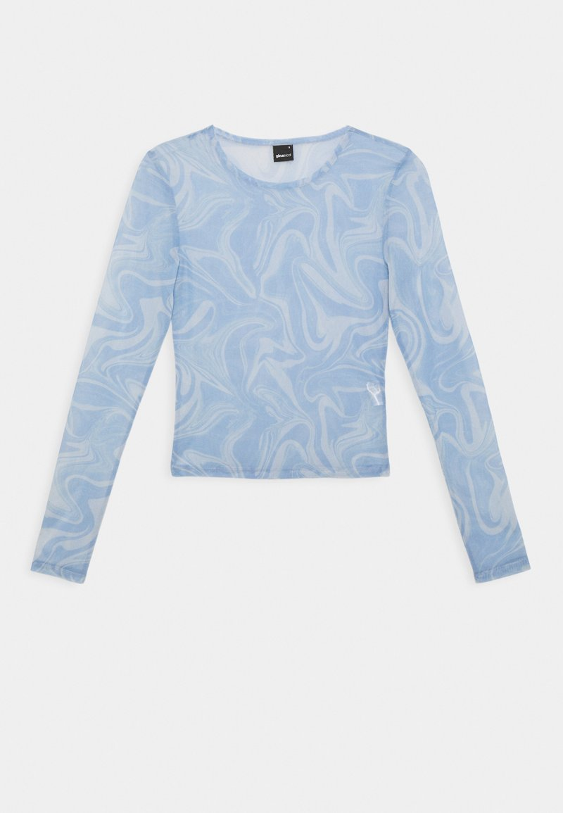 Gina Tricot - LAURA  - T-shirt med print - blue