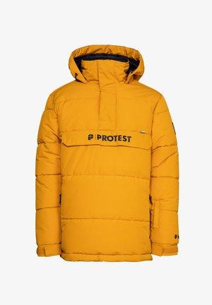 DYLAN JR  - Snowboard jacket - dark yellow