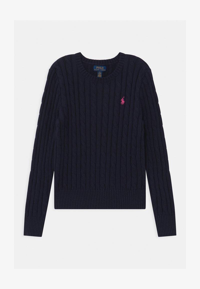 Polo Ralph Lauren - CABLE - Jersey de punto - navy/college pink