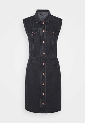 JORI - Sukienka jeansowa - obsidian