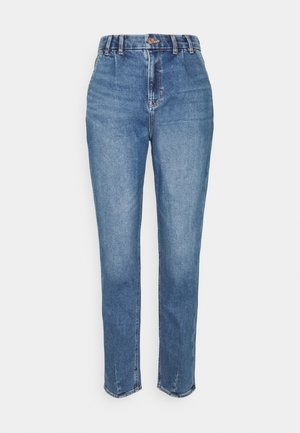 CURVY MOM JEAN - Slim fit jeans - light bright indigo