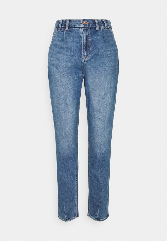 CURVY MOM JEAN - Jeans slim fit - light bright indigo