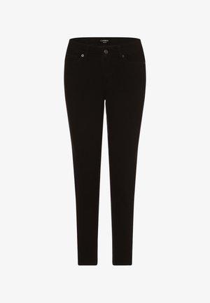 HOSE PIPER - Slim fit jeans - schwarz