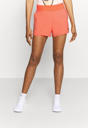 Sports shorts - crimson bliss/black