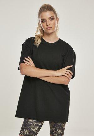 OVERSIZED BOYFRIEND - Basic T-shirt - black