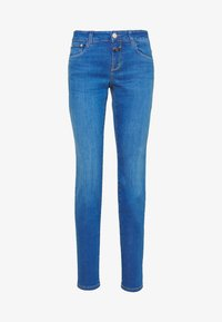 CLOSED - BAKER LONG MID WAIST REGULAR LENGTH - Slim fit jeans - mid blue - 0