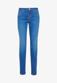BAKER LONG MID WAIST REGULAR LENGTH - Džíny Slim Fit - mid blue