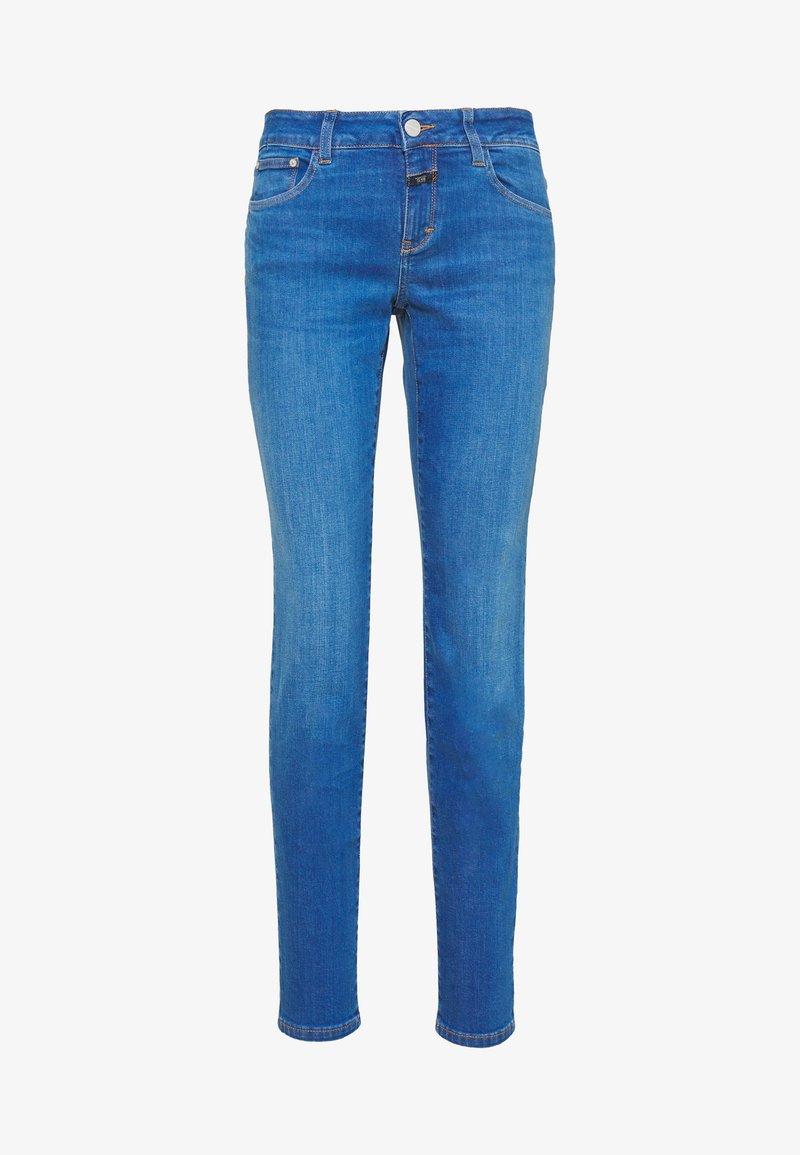 CLOSED - BAKER LONG MID WAIST REGULAR LENGTH - Slim fit jeans - mid blue