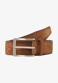 TOM TAILOR - Belt - light brown uni - 0